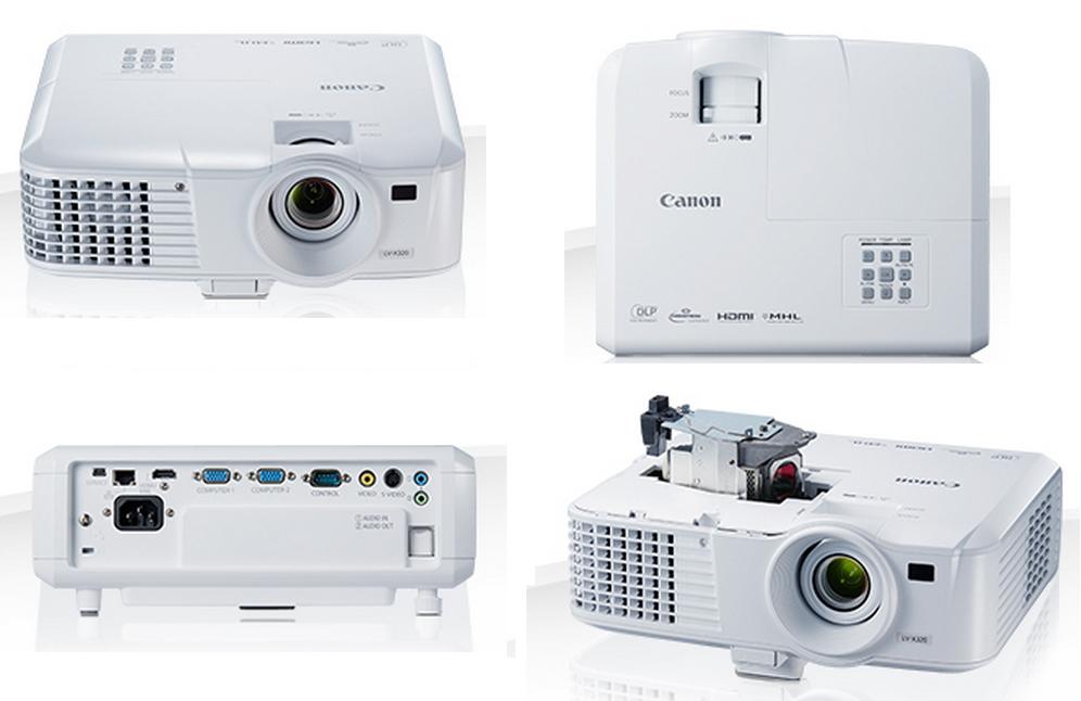 Canon lança novos projetores portáteis compactos LV-WX320 e LV-X320