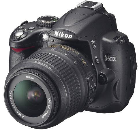 Зеркальная фотокамера Nikon D5000