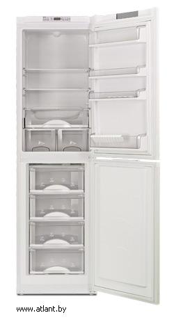 двухкамерный холодильник atlant хм 4024 000