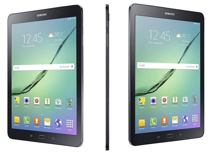 Планшет Samsung SM-T813 Galaxy Tab S2 9.7 32Gb White SM-T813NZWESER (Qualcomm Snapdragon 652 1.8 GHz/3072Mb/32Gb/Wi-Fi/Bluetooth/Cam/9.7/2048x1536/Android)