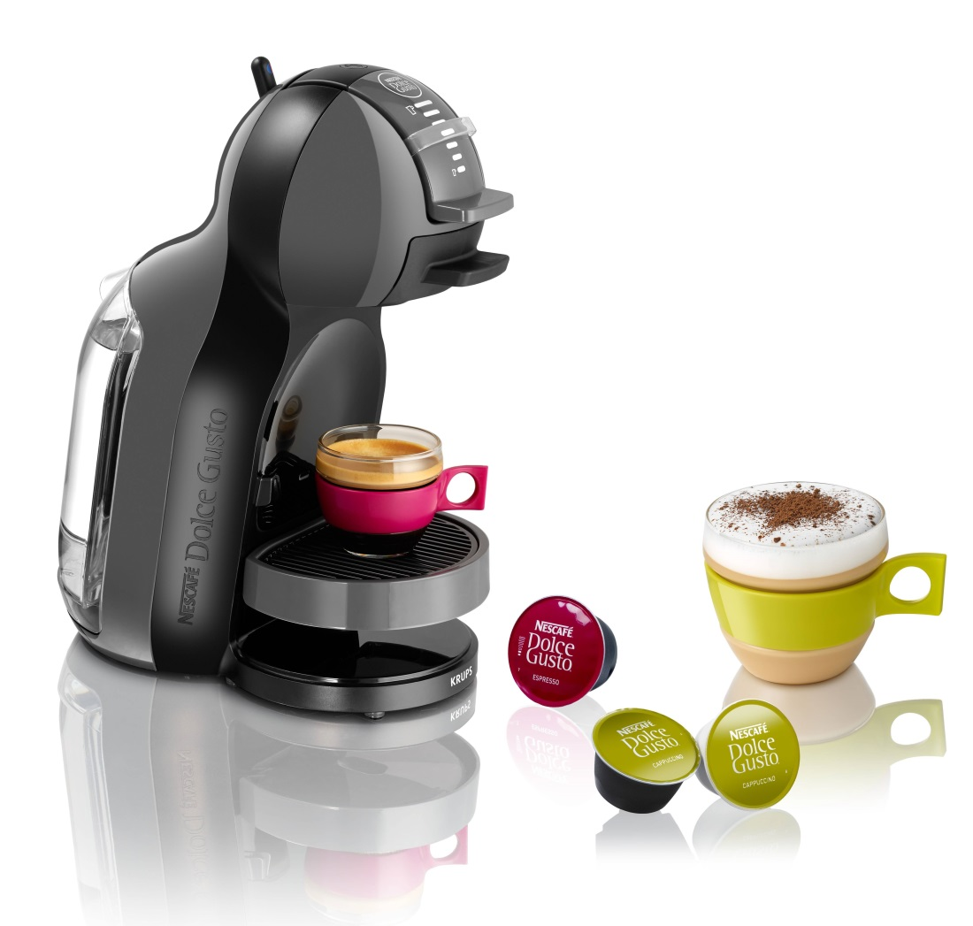 nescafe dolce gusto mini me coffee machine krups automatic with free 6 pcs capsules variety pack. Black Bedroom Furniture Sets. Home Design Ideas