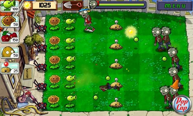 Игра растения против зомби создана