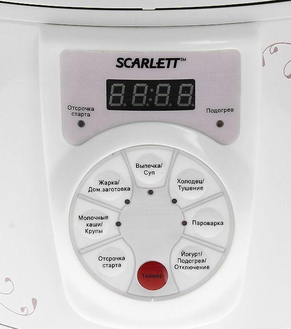 Scarlett мультиварка как пользоваться sc411 инструкция по применени режим выпечкаю