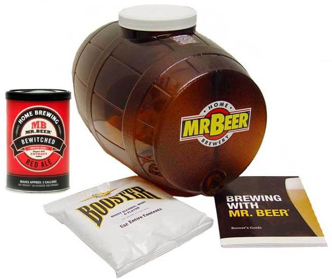 Отзывы домашняя пивоварня mr beer самогонный аппарат запрещен законом