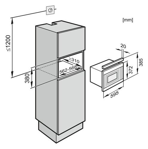 miele m6262tc hvbr. Black Bedroom Furniture Sets. Home Design Ideas