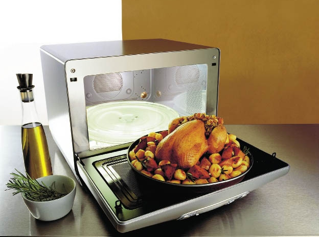 Микроволновая печь: есть ли