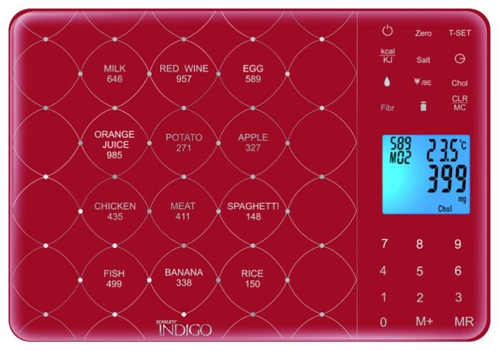 инструкция кухонные весы скарлет индиго - фото 4