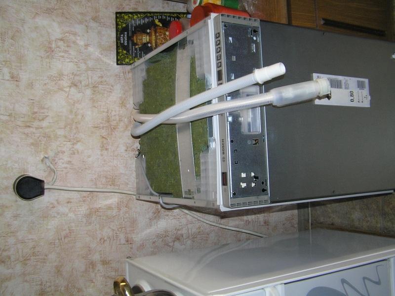 Инструкция по подключению посудомоечная машина