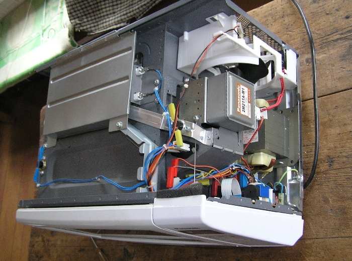 СВЧ печь Panasonic со снятой