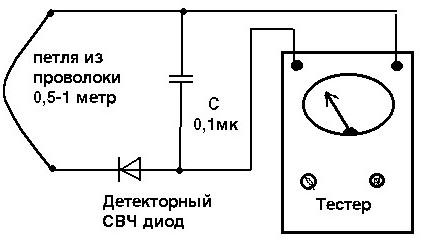свч печь схема электрическая