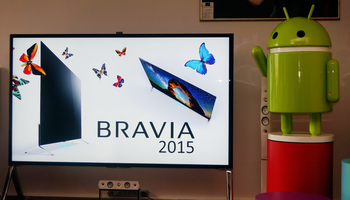 Умные телевизоры Sony BRAVIA на платформе Android TV