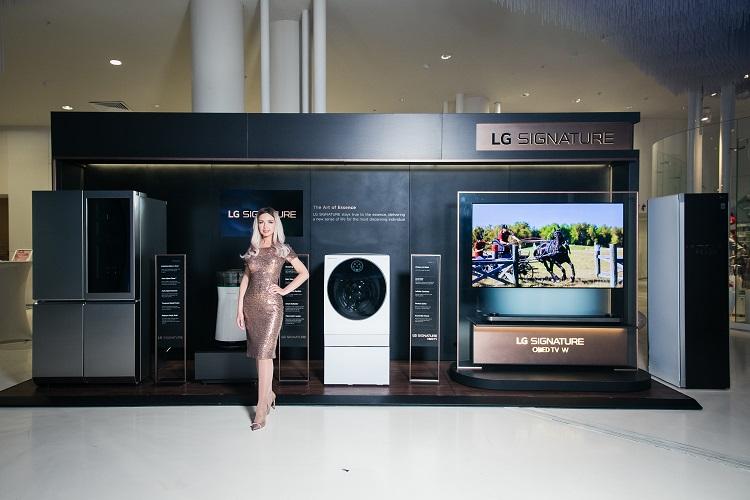 OLED телевизор LG SIGNATURE W8