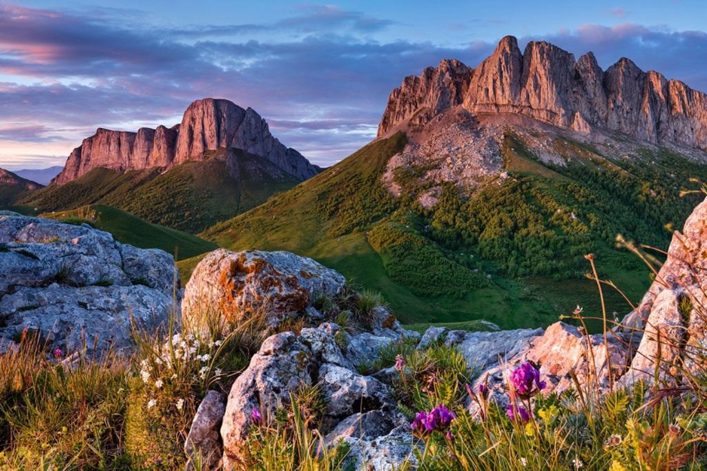 Самые красивые места в россии - природные красоты