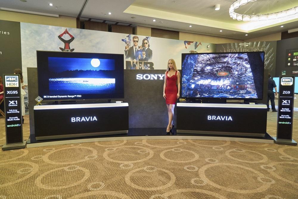 8К HDR телевизор Sony