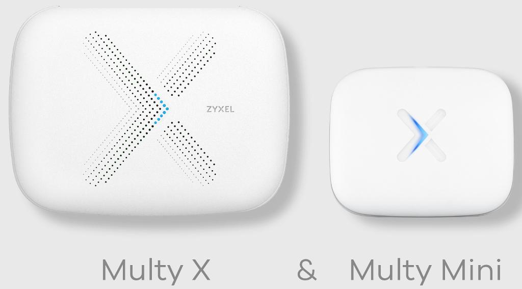 Zyxel, сеть WiFi-mesh, Multy Mini