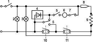электрическая схема пароварки