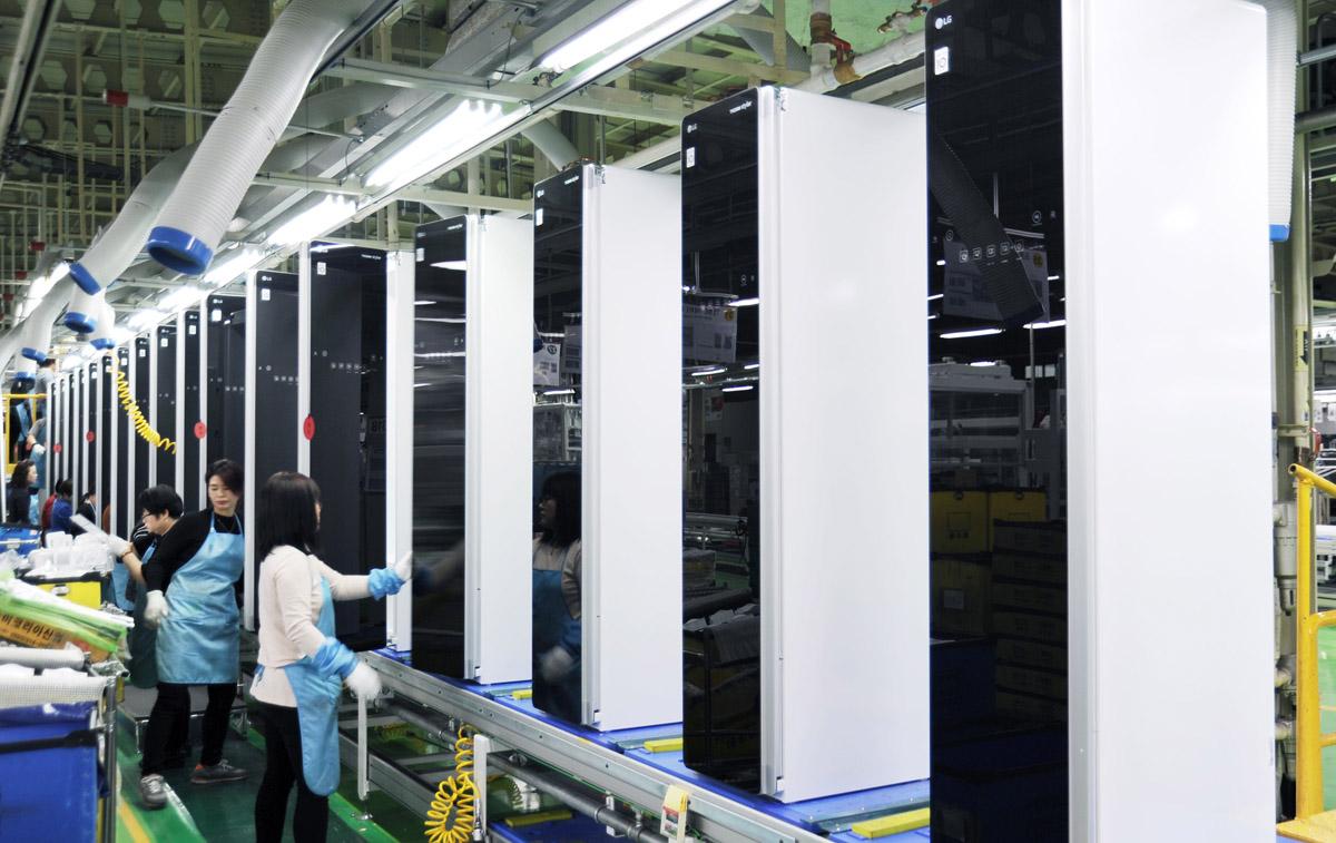 Где производят бытовую технику LG и LG SIGNATURE