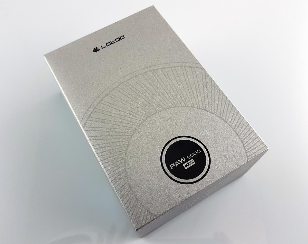 Упаковка плеера Lotoo paw 5000 MK2