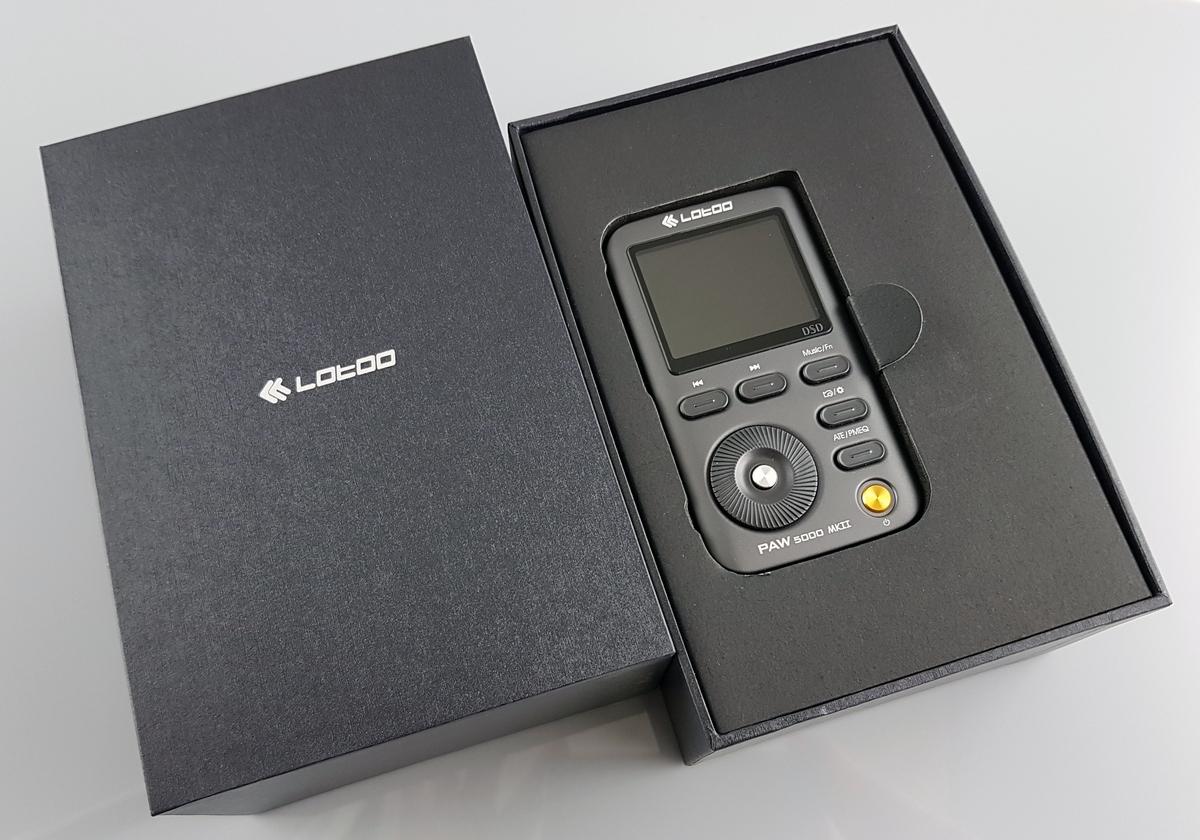 Коробка с плеером Lotoo paw 5000 MK2