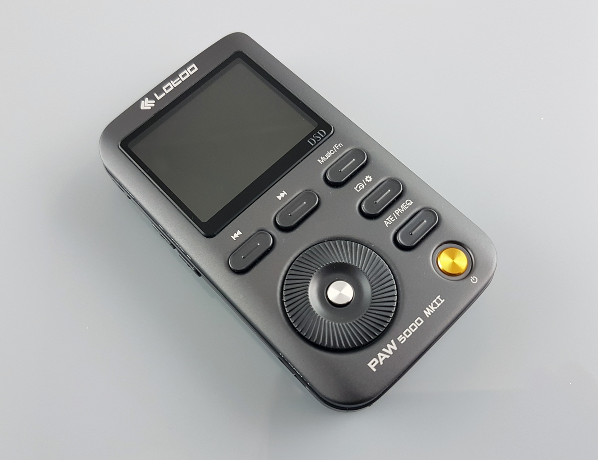 аудиоплеера Lotoo paw 5000 MK2
