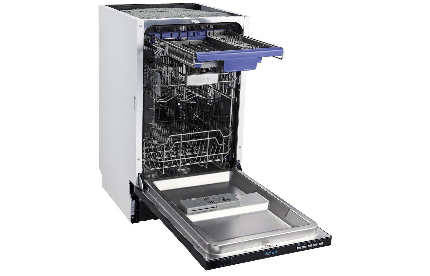 Посудомоечные машины 45 см: 5 моделей малоизвестных брендов