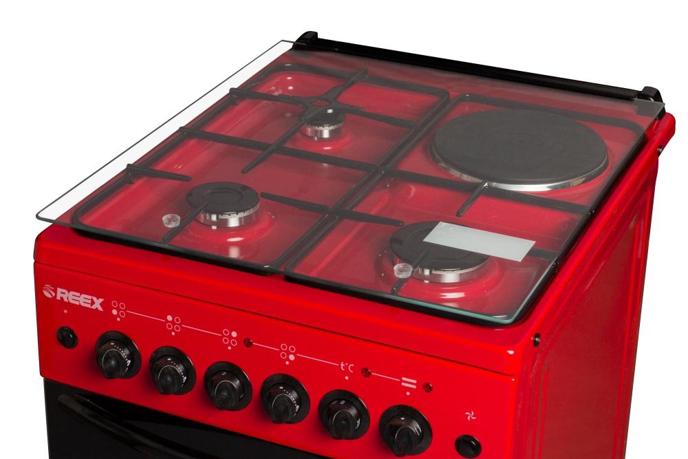 Газовые, электрические, стеклокерамические плиты REEX