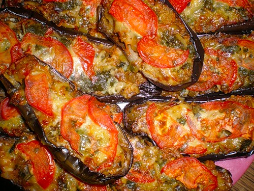 Блюдо из баклажан рецепт в духовке