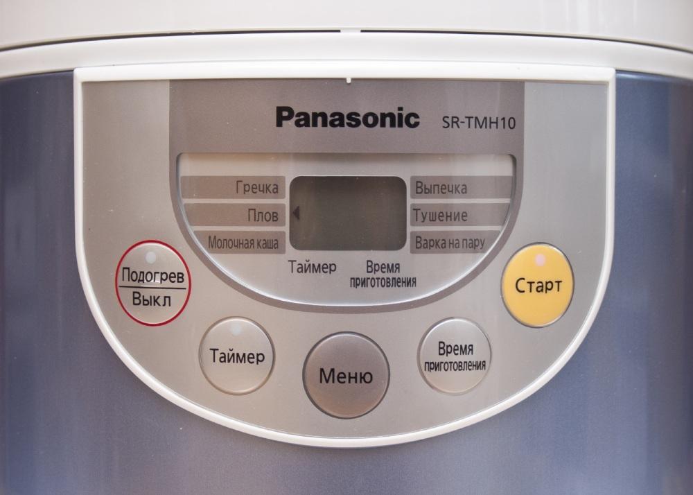 Мультиварка PANASONIC SR-TMH18 - управление