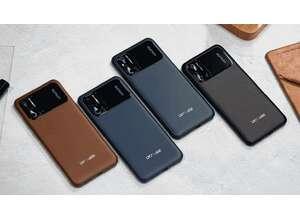 Смартфон Doogee N40 Pro: четыре камеры и «кожаный» дизайн