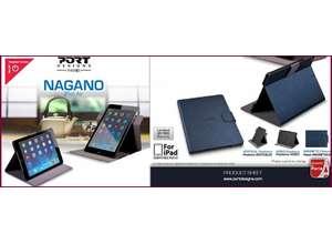 PORT Designs выпустил тонкий и легкий чехол для iPad Air: Nagano iPad Air