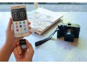 С SD-картридером PhotoFast CR-8710 для гаджетов производства Apple файлы формата RAW загружаются за пару секунд