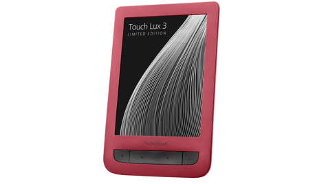 Электронная книга PocketBook 626 Touch Lux 3 Ruby Red